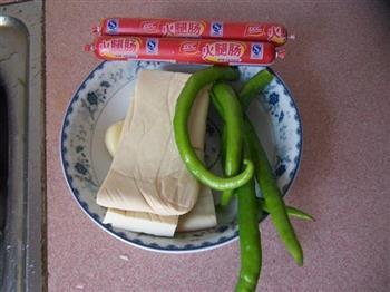 辣炒豆腐的做法图解1