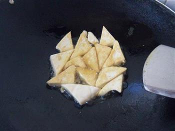 辣炒豆腐的做法图解3