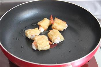 菠萝油条虾的做法步骤10