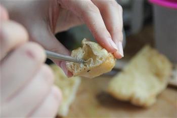 菠萝油条虾的做法步骤8