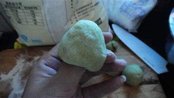 椰香窝窝头的做法图解5