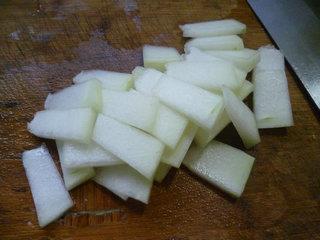 咸肉青菜冬瓜汤的做法图解5