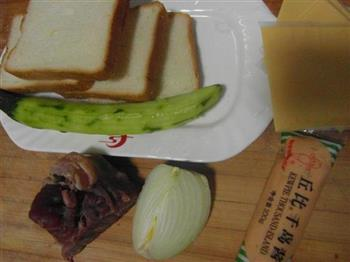 千岛牛肉吐司的做法图解1