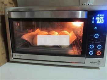 核仁葡萄干全麦面包的做法图解10