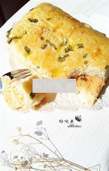 千岛香葱面包块的做法图解21