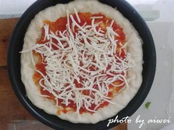 芝心披萨的做法图解21