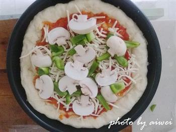 芝心披萨的做法图解22
