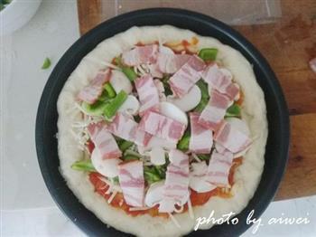 芝心披萨的做法图解23