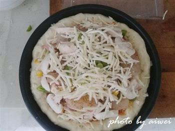 芝心披萨的做法图解25