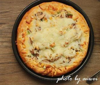 芝心披萨的做法图解27