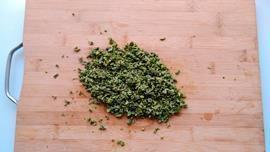 香椿豆豉窝窝头的做法图解3