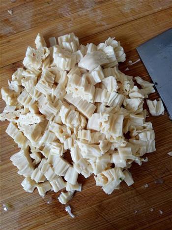 萝卜缨拌腐竹的做法图解7