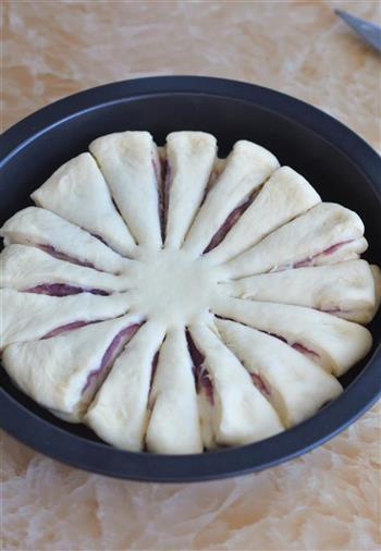 花朵紫薯面包的做法图解13