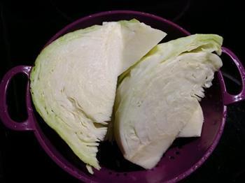 卤水包菜的做法图解1