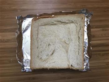 布丁烤吐司的做法图解2