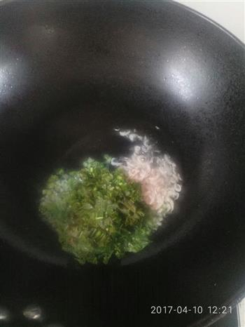 香椿配蒸蛋的做法图解4