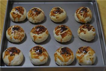 紫薯蛋黄酥的做法图解22