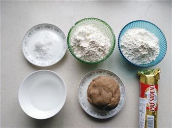栗蓉白皮酥的做法图解6