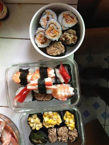 自制寿司的做法图解2