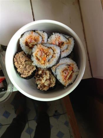 自制寿司的做法图解4