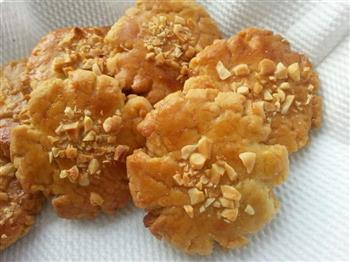 红糖黑芝麻桃酥and红糖花生桃酥的做法图解4