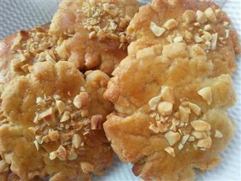 红糖黑芝麻桃酥and红糖花生桃酥的做法图解5
