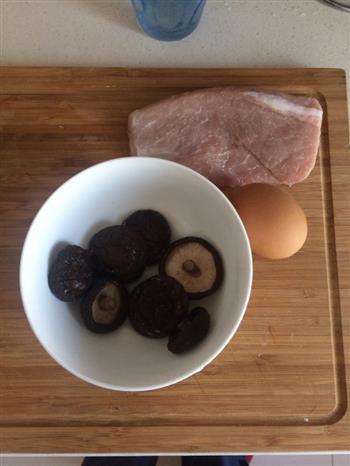 下饭的香菇肉片的做法图解1