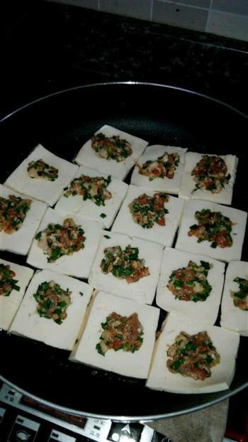 岑溪嫩豆腐酿的做法图解2