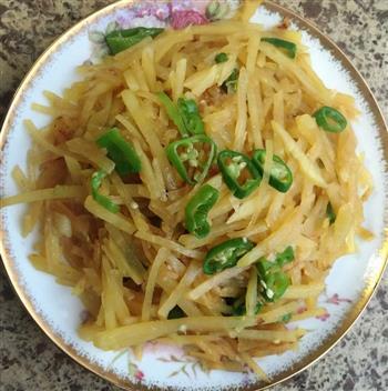 尖椒土豆丝的做法图解5