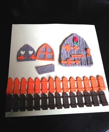 圣诞节树屋翻糖无需申请自动送的做法图解3