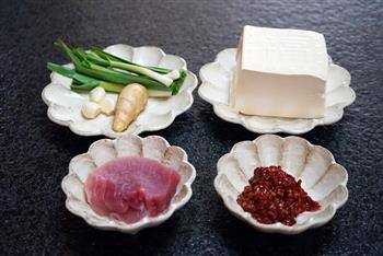 肉末麻婆豆腐的做法图解1