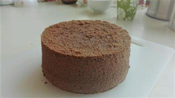 详细步骤六寸可可戚风蛋糕 巧克力味浓郁的做法图解23