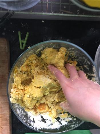 新西兰南瓜玉米糯米窝窝头的做法图解6
