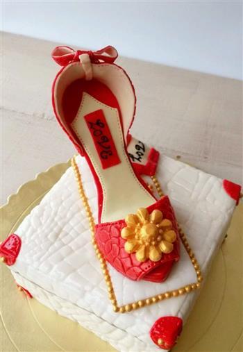 红色高跟鞋翻糖注册免费送体验金平台的做法图解16