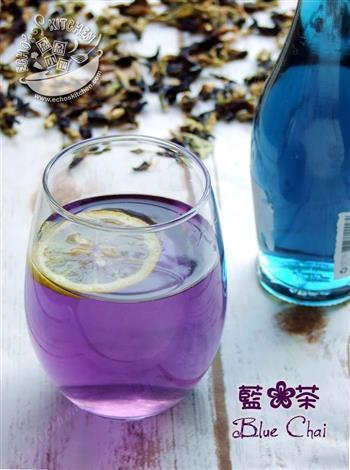 蓝花茶的做法图解2