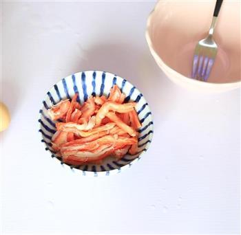 蟹肉炒饭的做法图解2