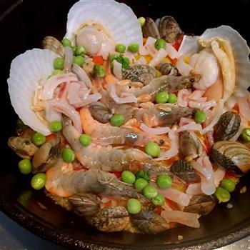 西班牙海鲜饭的做法图解6