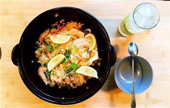 西班牙海鲜饭的做法图解7