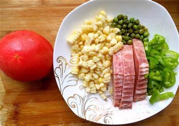 一个人的饭饭怎么做-来个鼎鼎大名的一只番茄饭吧的做法图解1