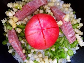 一个人的饭饭怎么做-来个鼎鼎大名的一只番茄饭吧的做法图解4