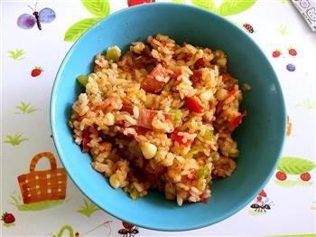 一个人的饭饭怎么做-来个鼎鼎大名的一只番茄饭吧的做法图解5