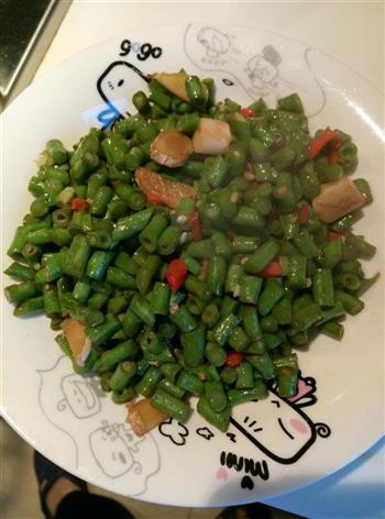 炒豇豆的做法图解4