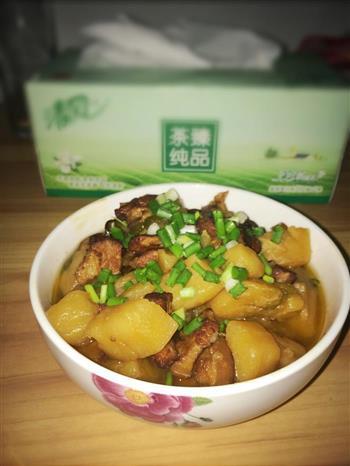 土豆红烧肉的做法图解7