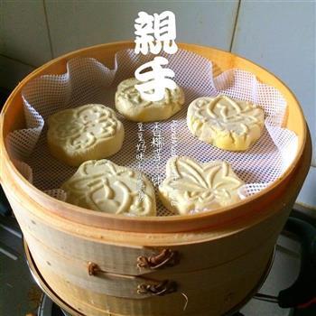 香糯南瓜莲子饼的做法图解14