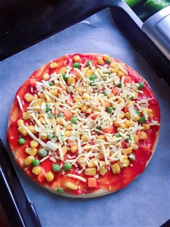 五花肉披萨的做法图解4