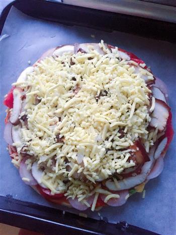 五花肉披萨的做法图解5