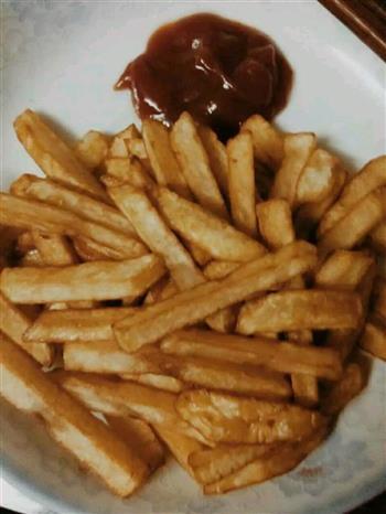 薯条的做法图解4