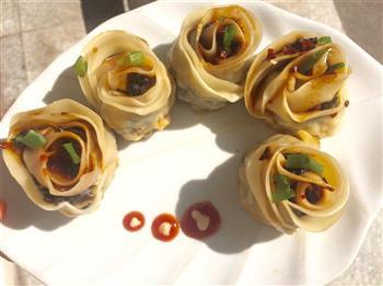 玫瑰煎饺的做法图解12