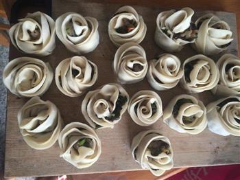 玫瑰煎饺的做法图解8