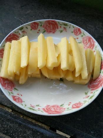 炸薯条的做法图解2